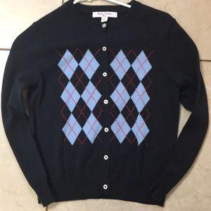 Brooks Brothers Boys buttondown cardigan size 8/10